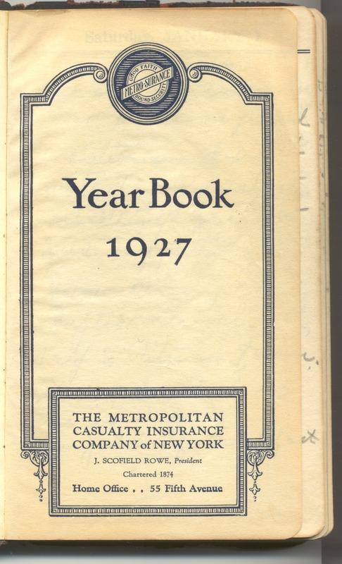 Roberta Hopkins' Diary 1927 (p. 5)