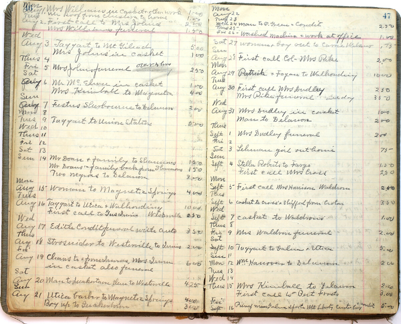Hopkins House Day Book 1925-1930 (p.26)