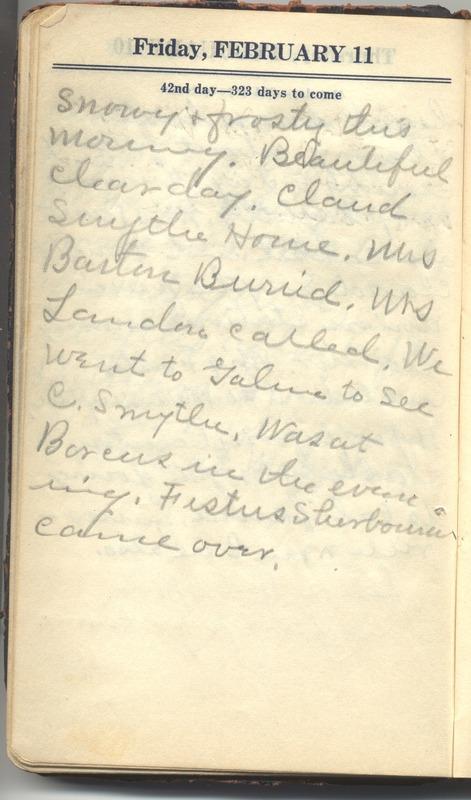 Roberta Hopkins' Diary 1927 (p. 48)