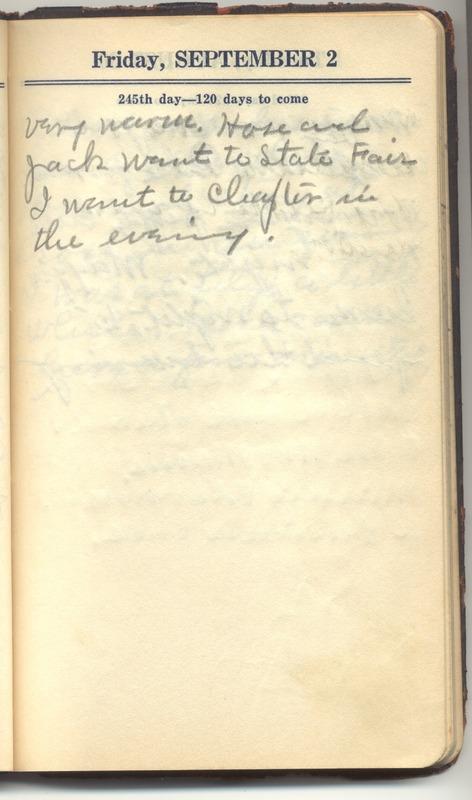 Roberta Hopkins' Diary 1927 (p. 251)