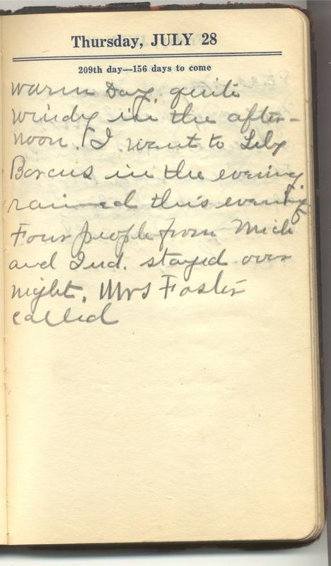 Roberta Hopkins' Diary 1927 (p. 215)