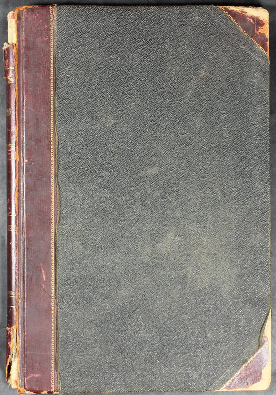 Hopkins House Day Book 1922 (p. 1)