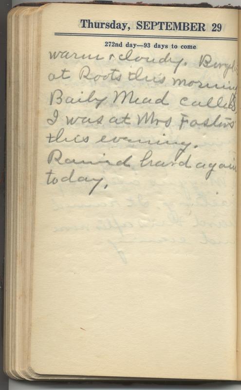 Roberta Hopkins' Diary 1927 (p. 278)