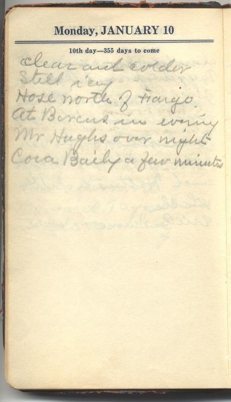 Roberta Hopkins' Diary 1927 (p. 16)