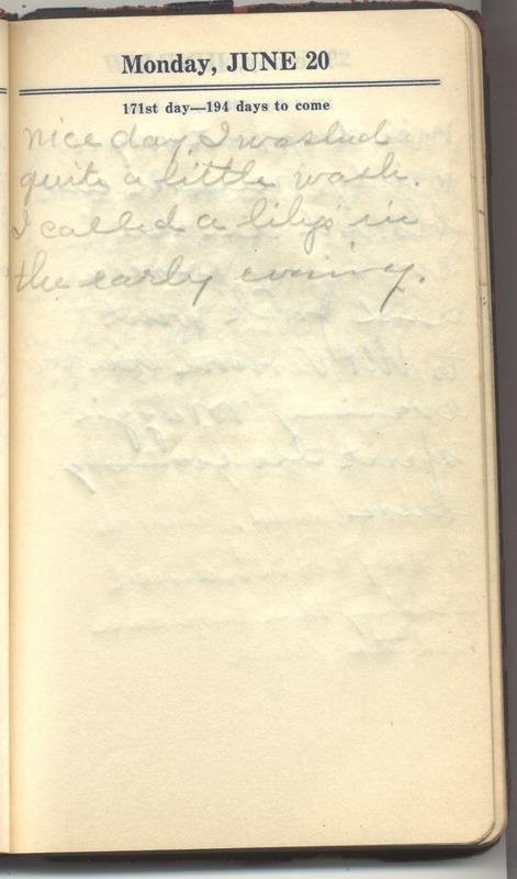Roberta Hopkins' Diary 1927 (p. 177)