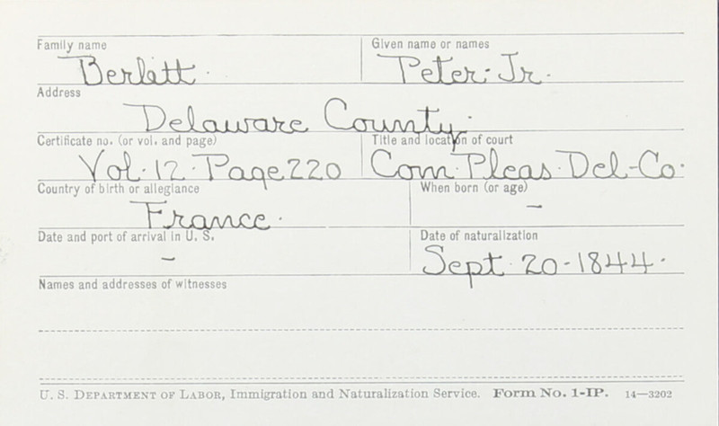 Naturalization Records Delaware County OH (p. 167)