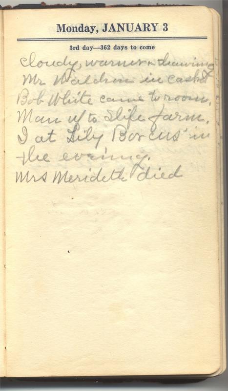 Roberta Hopkins' Diary 1927 (p. 9)