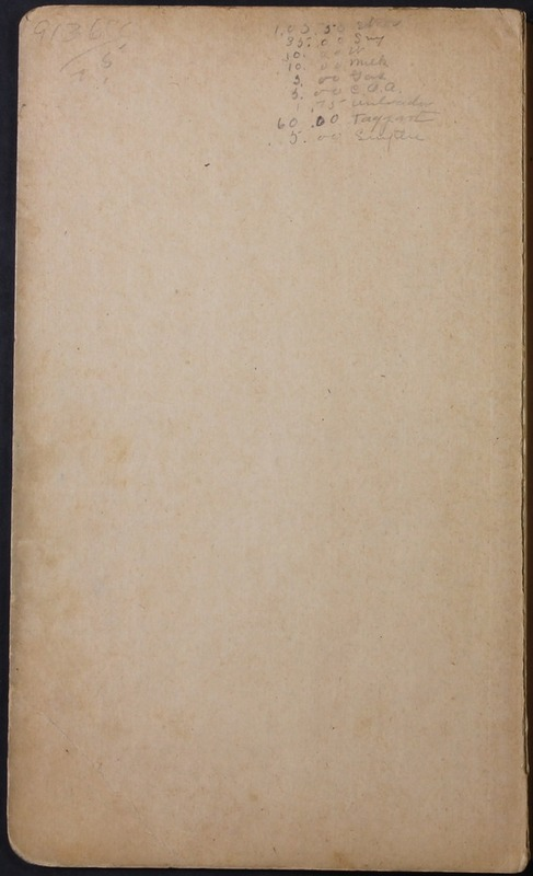 Hopkins House Day Book 1920-1925 (p.2)