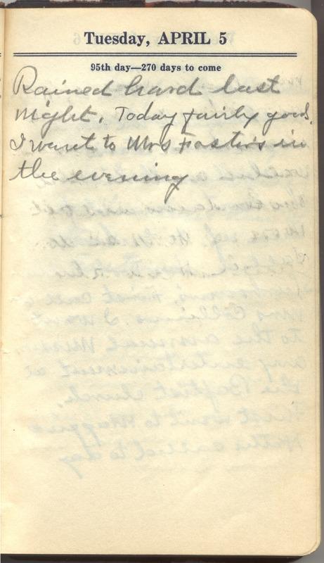 Roberta Hopkins' Diary 1927 (p. 101)