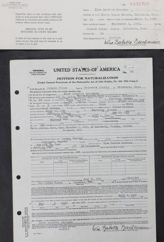 Naturalization Records Delaware County OH (p. 95)
