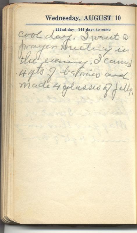 Roberta Hopkins' Diary 1927 (p. 228)