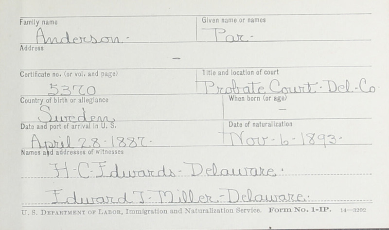 Naturalization Records Delaware County OH (p. 44)
