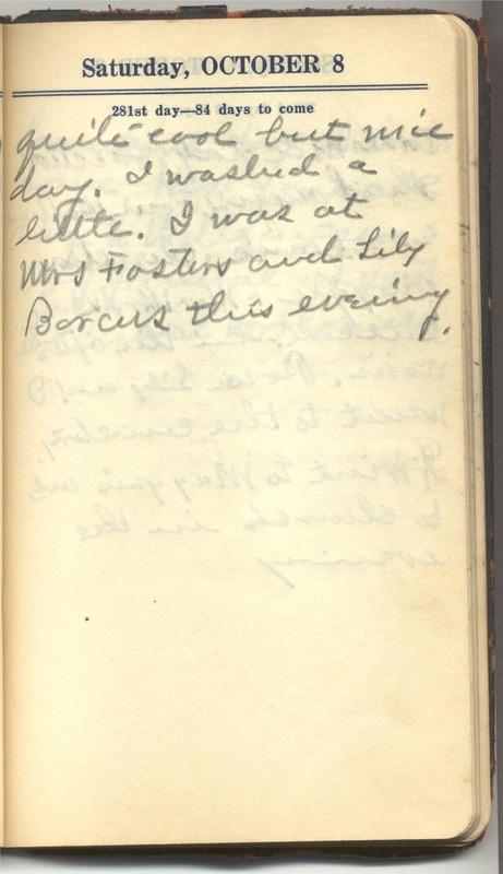 Roberta Hopkins' Diary 1927 (p. 287)
