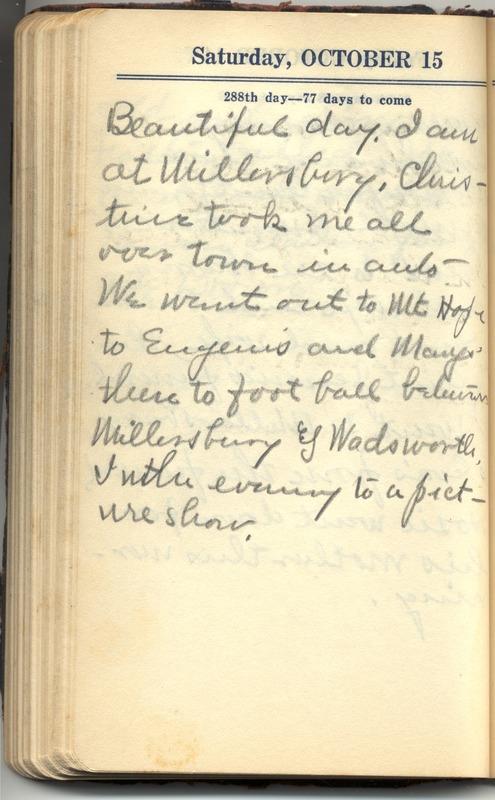 Roberta Hopkins' Diary 1927 (p. 294)