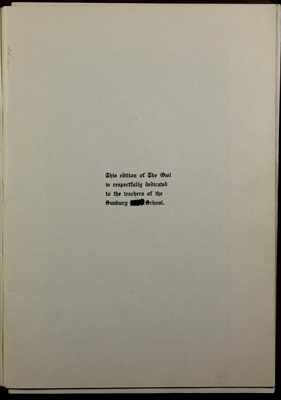 The Owl, Vol. II, 1922 (p.5)