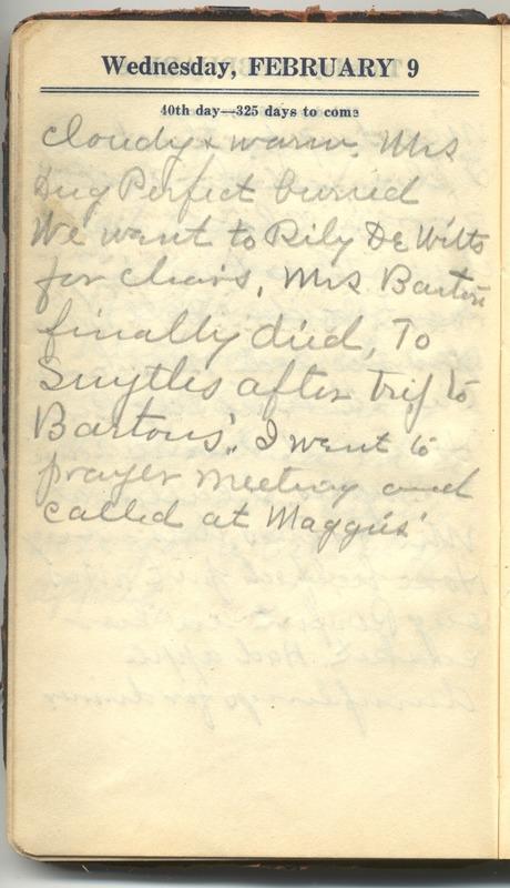 Roberta Hopkins' Diary 1927 (p. 46)