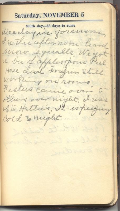Roberta Hopkins' Diary 1927 (p. 315)