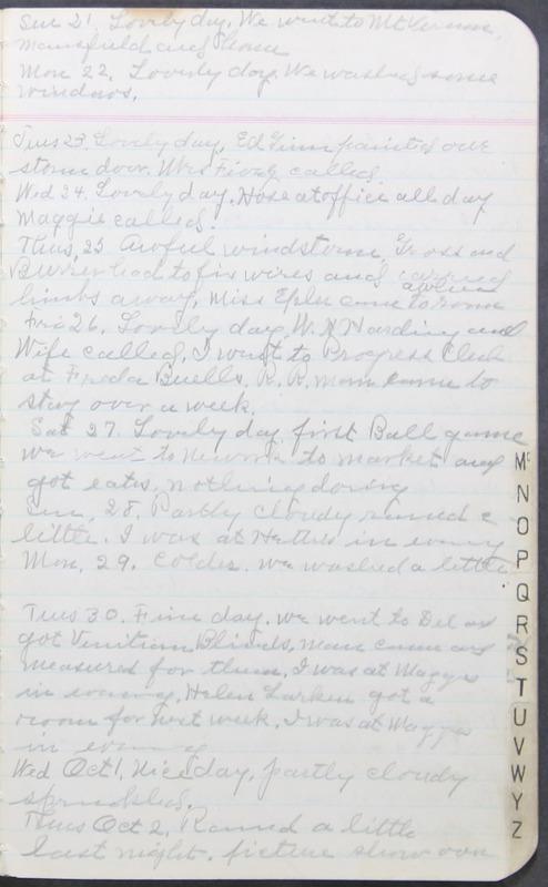 Roberta Hopkins' Journal 1941-1943 (p. 9)