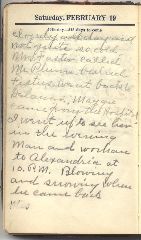 Roberta Hopkins' Diary 1927 (p. 56)