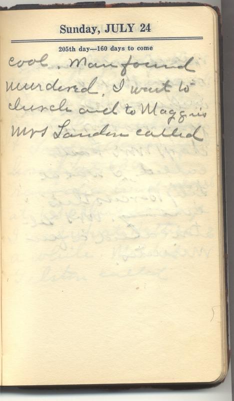 Roberta Hopkins' Diary 1927 (p. 211)