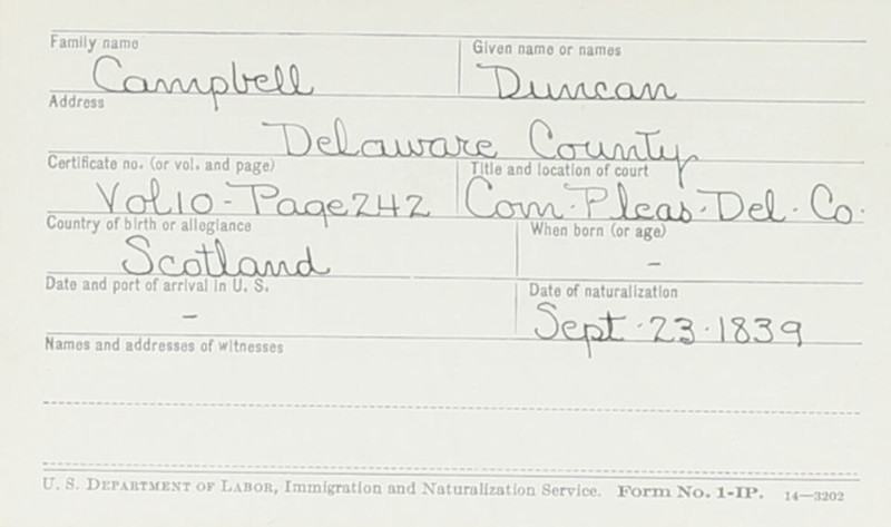Naturalization Records Delaware County OH (p. 317)