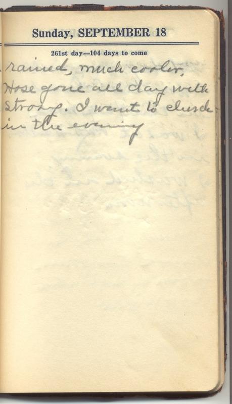 Roberta Hopkins' Diary 1927 (p. 267)