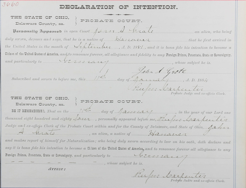 Naturalization Records Delaware County OH (p. 195)