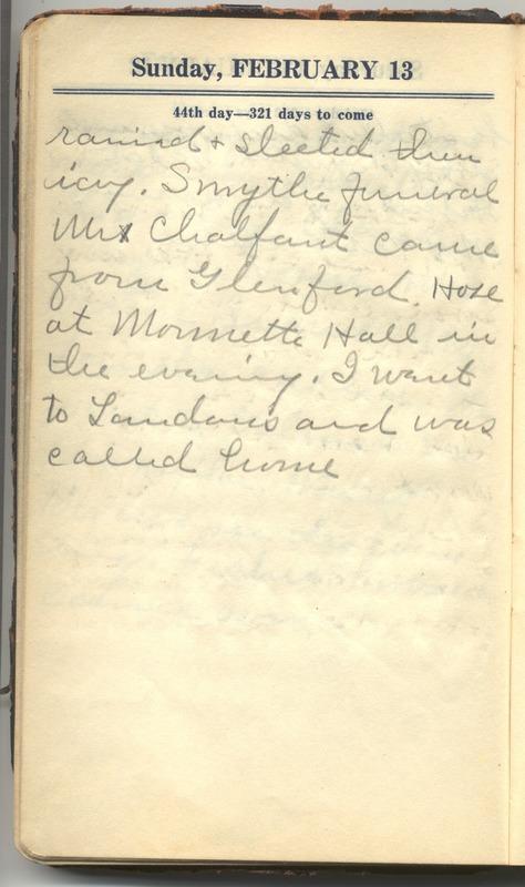 Roberta Hopkins' Diary 1927 (p. 50)