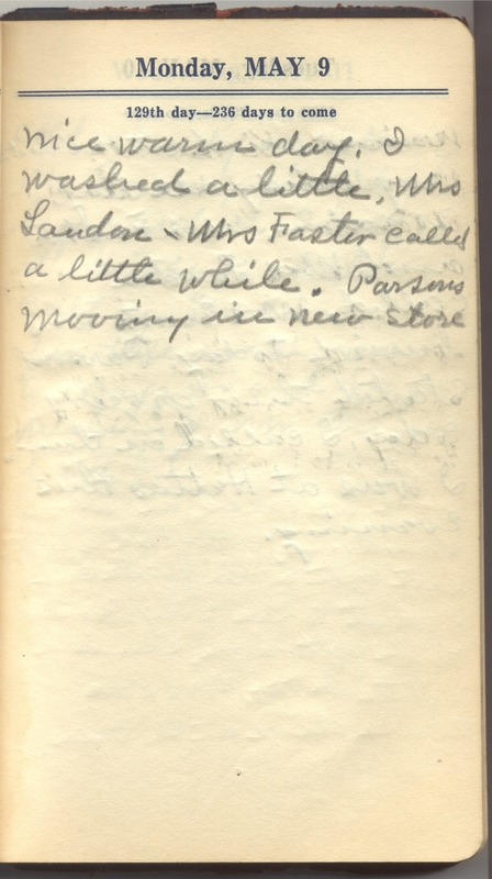 Roberta Hopkins' Diary 1927 (p. 135)