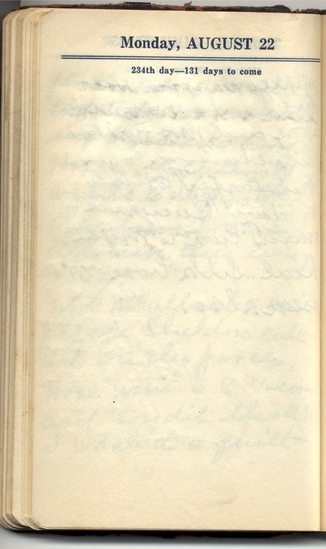 Roberta Hopkins' Diary 1927 (p. 244)
