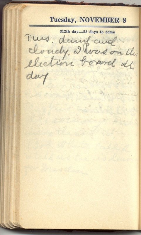 Roberta Hopkins' Diary 1927 (p. 318)