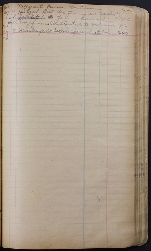 Hopkins House Day Book 1920-1925 (p.113)