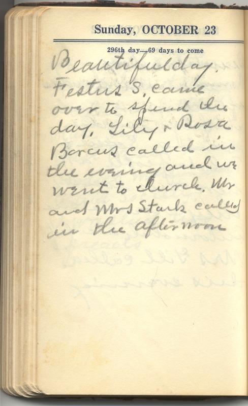 Roberta Hopkins' Diary 1927 (p. 302)