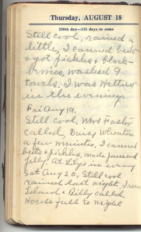 Roberta Hopkins' Diary 1927 (p. 236)