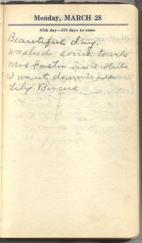 Roberta Hopkins' Diary 1927 (p. 93)