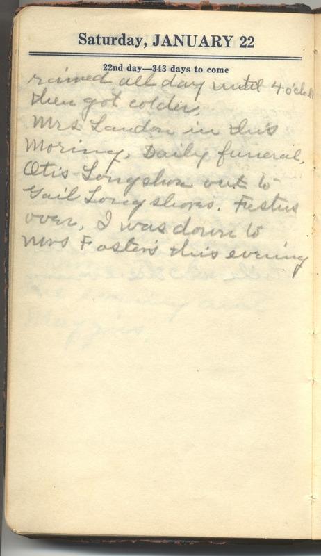 Roberta Hopkins' Diary 1927 (p. 28)