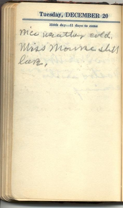 Roberta Hopkins' Diary 1927 (p. 360)