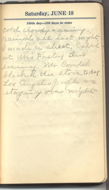 Roberta Hopkins' Diary 1927 (p. 175)