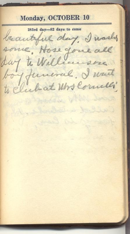 Roberta Hopkins' Diary 1927 (p. 289)