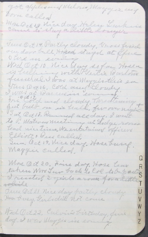 Roberta Hopkins' Journal 1941-1943 (p. 11)
