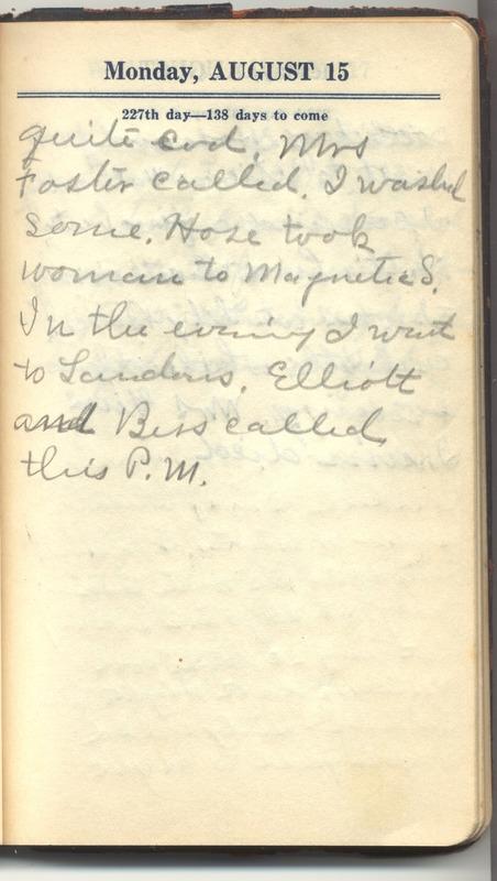 Roberta Hopkins' Diary 1927 (p. 233)