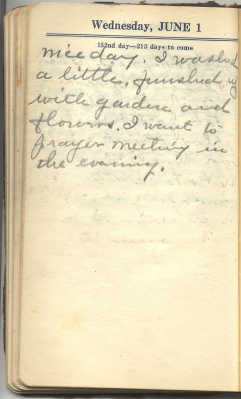 Roberta Hopkins' Diary 1927 (p. 158)