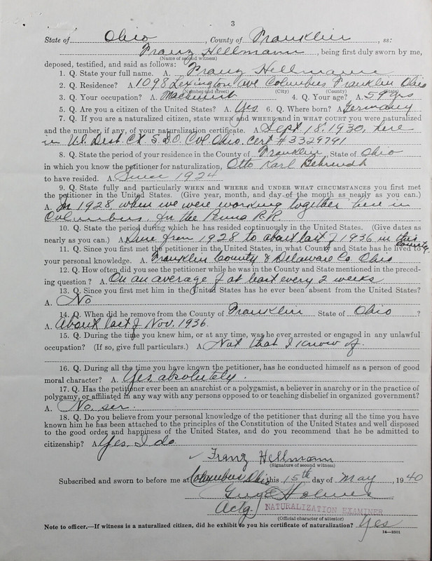 Naturalization Records Delaware County OH (p. 151)