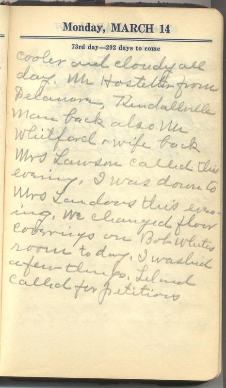 Roberta Hopkins' Diary 1927 (p. 79)