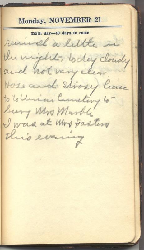 Roberta Hopkins' Diary 1927 (p. 331)