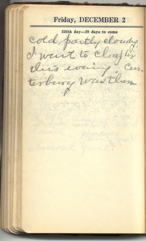 Roberta Hopkins' Diary 1927 (p. 342)