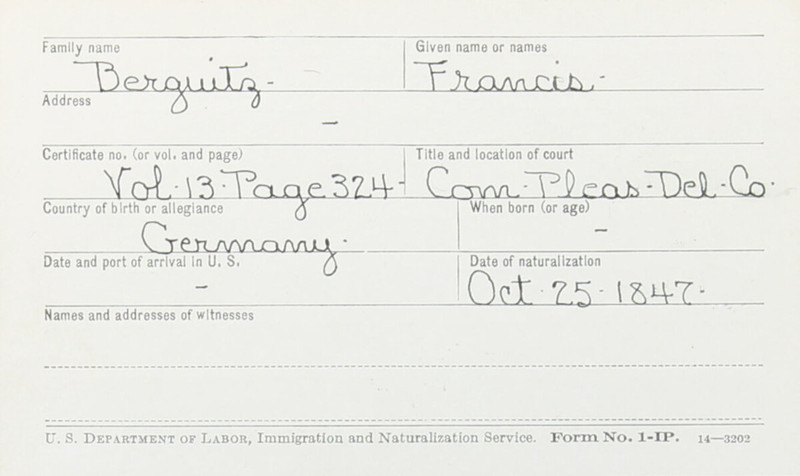 Naturalization Records Delaware County OH (p. 168)