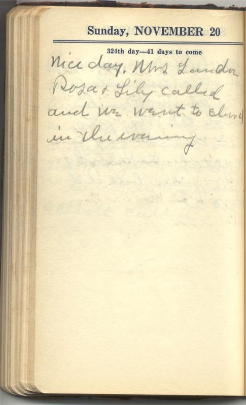 Roberta Hopkins' Diary 1927 (p. 330)