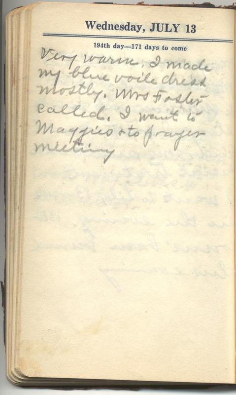 Roberta Hopkins' Diary 1927 (p. 200)
