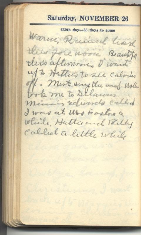 Roberta Hopkins' Diary 1927 (p. 336)